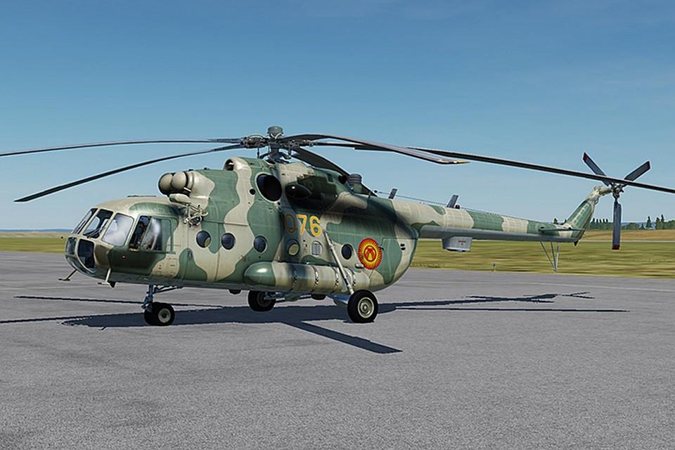 ВКиргизии разбился вертолет Ми-8