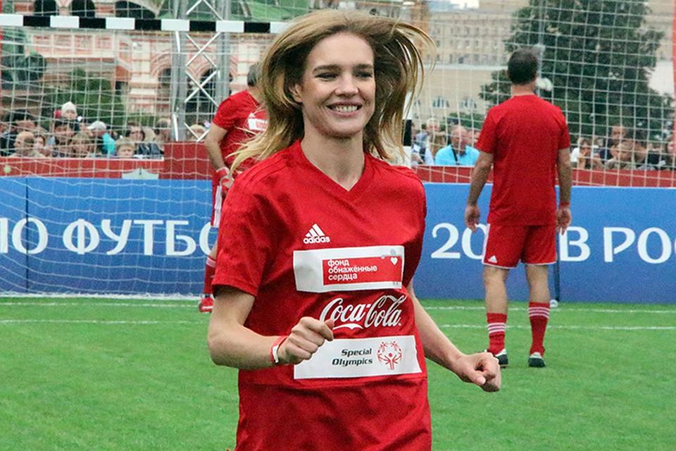 Инклюзивный матч наКрасной площади в столице России