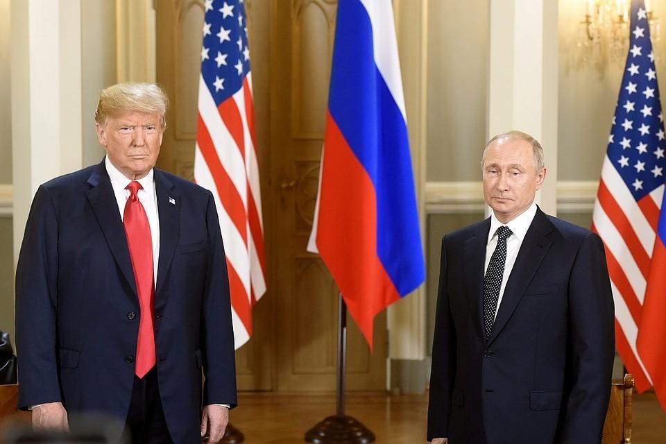 «Хорошее начало для всех». ВХельсинки завершилась  встреча Трампа и В. Путина  тет-а-тет