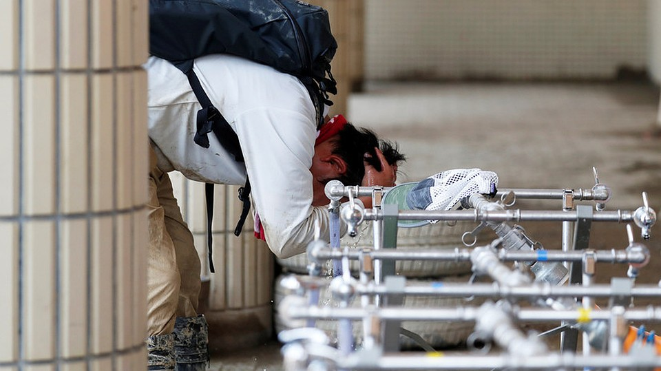 Небывалая жара вЯпонии: занеделю погибли 12 человек, тысячи отправлены вмедучереждение