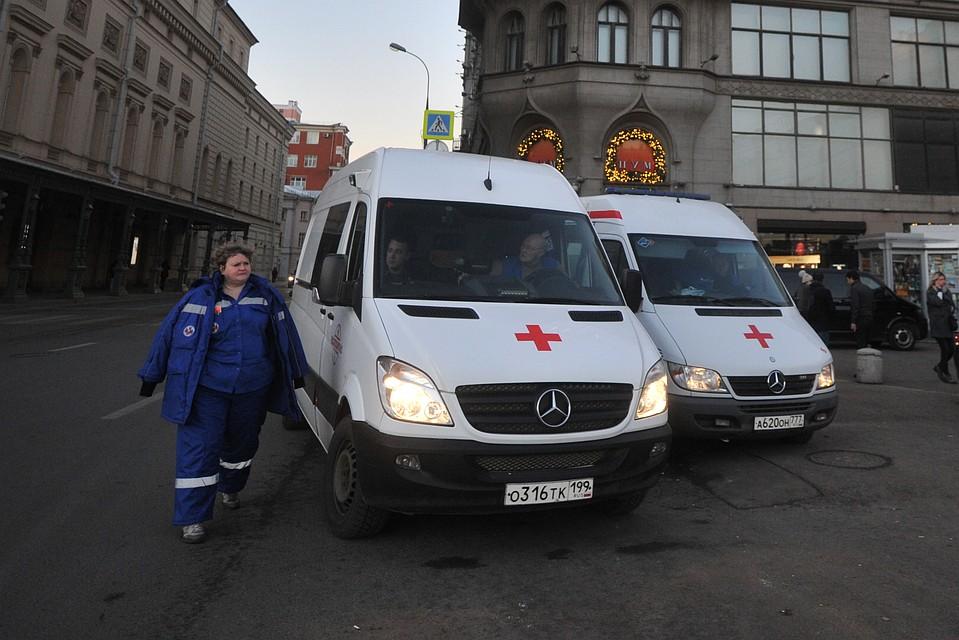 Шофёр иномарки сбил 2-х пешеходов навостоке столицы