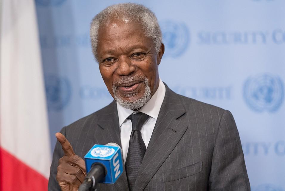 Скончался прежний руководитель ООН Кофи Аннан