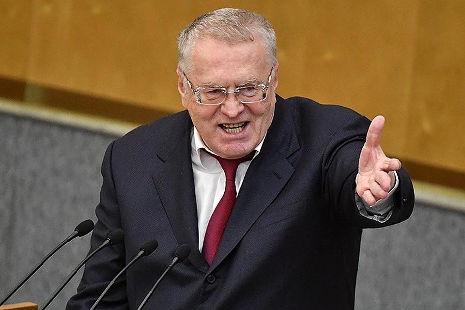 Жириновский предложил назначать классными руководителями вшколах только мужчин