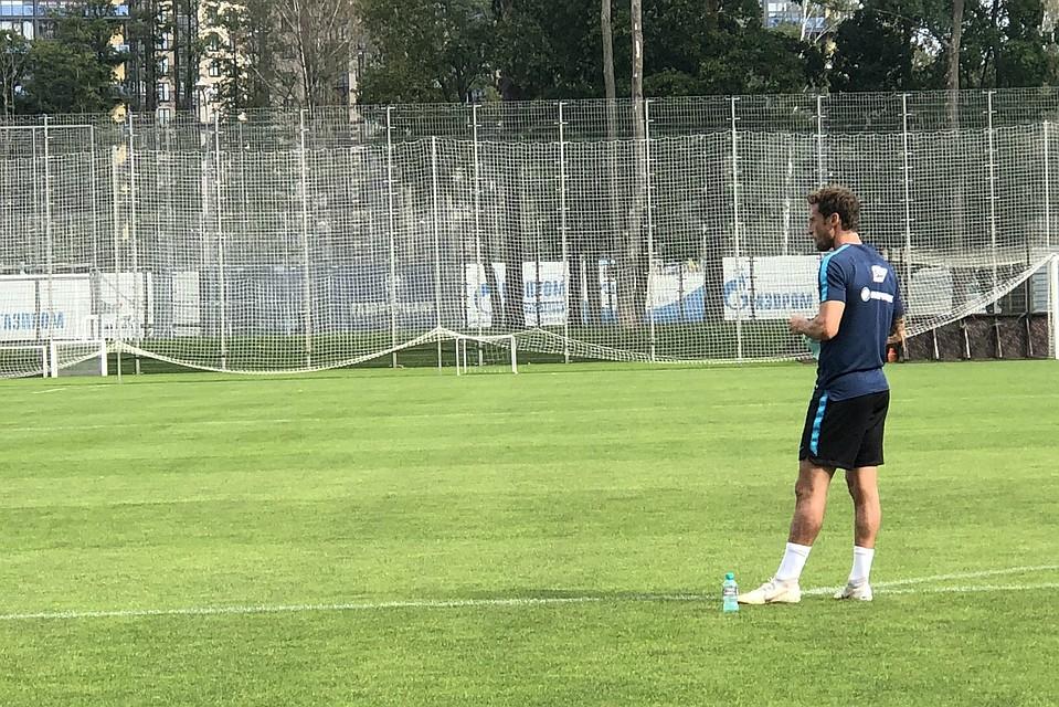 Маркизио провел первую тренировку вместе с«Зенитом»
