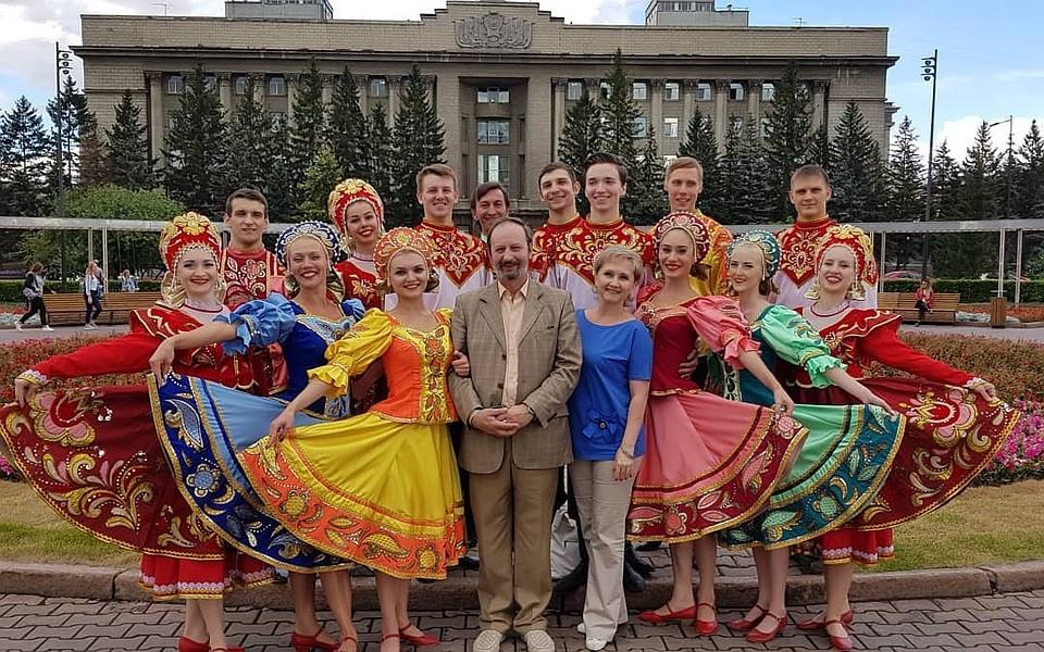 ВКрасноярске танцоры оживили картины Василия Сурикова