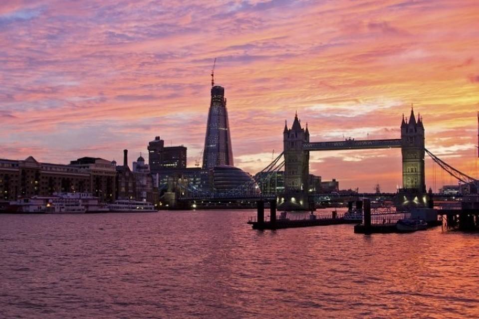 Лондон может уйти под воду