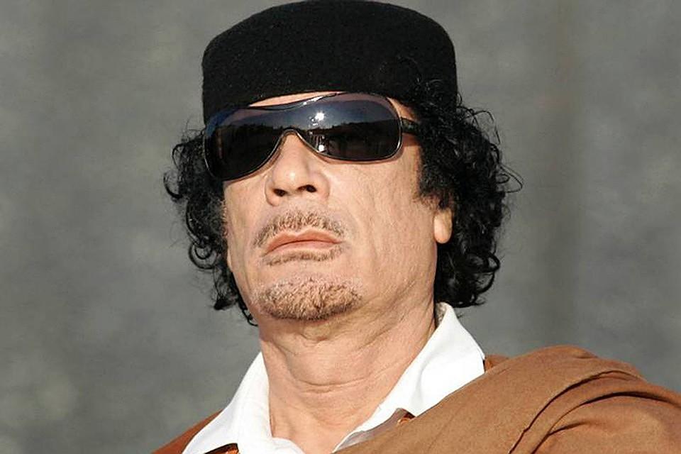 Сосчетов Каддафи пропали  неменее  3 млрд  евро