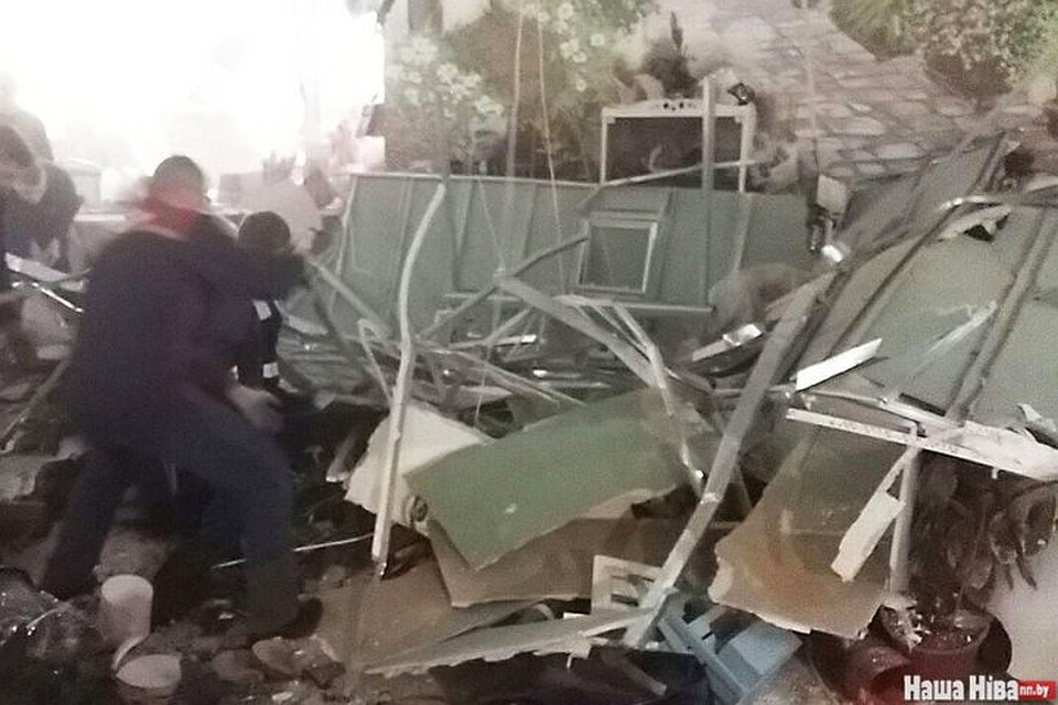 ВМинске обвалился потолок ТРЦ «Арена-Сити»