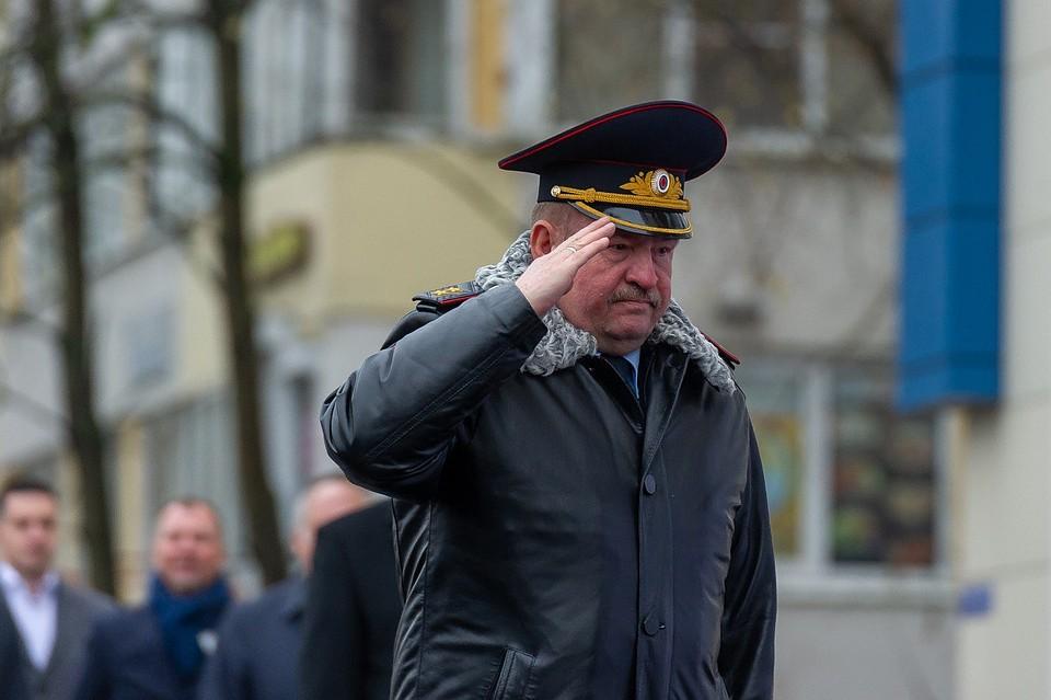 Сергей Умнов ушел споста начальникаГУ МВД поПетербургу иЛенобласти