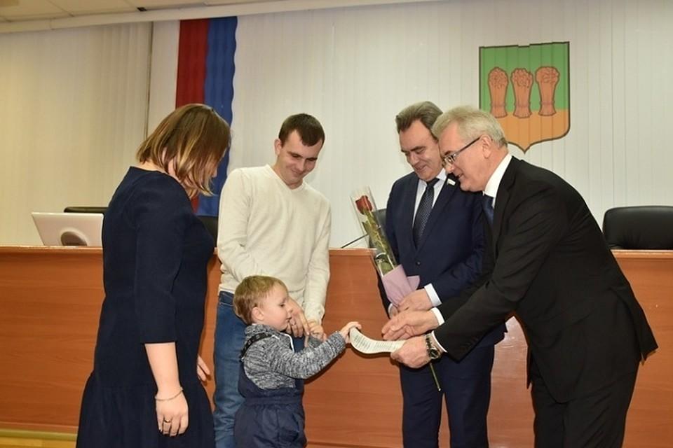 ВПензе 30 семей получили сертификаты нановое жилье