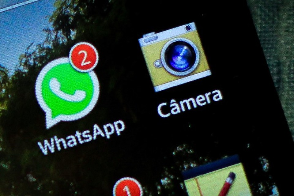 Осбое вработе мессенждера WhatsApp докладывают юзеры повсей планете