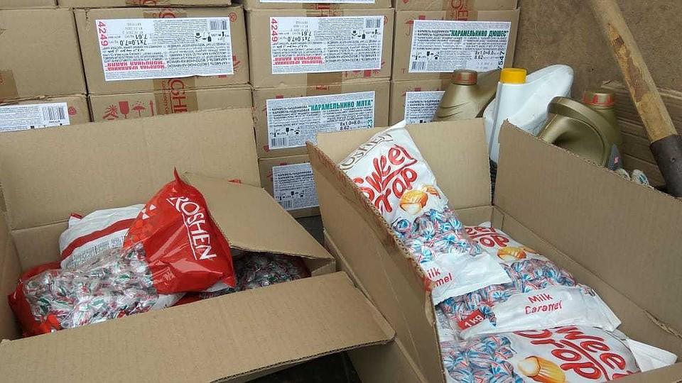 Грузовик с конфетами вернулся в Казахстан
