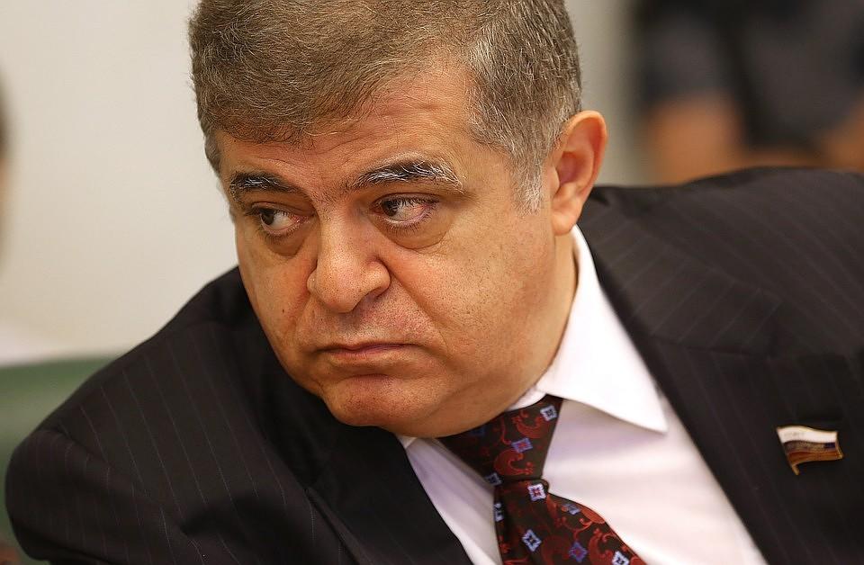 Первый заместитель председателя комитета Совета Федерации РФ по международным делам Владимир Джабаров