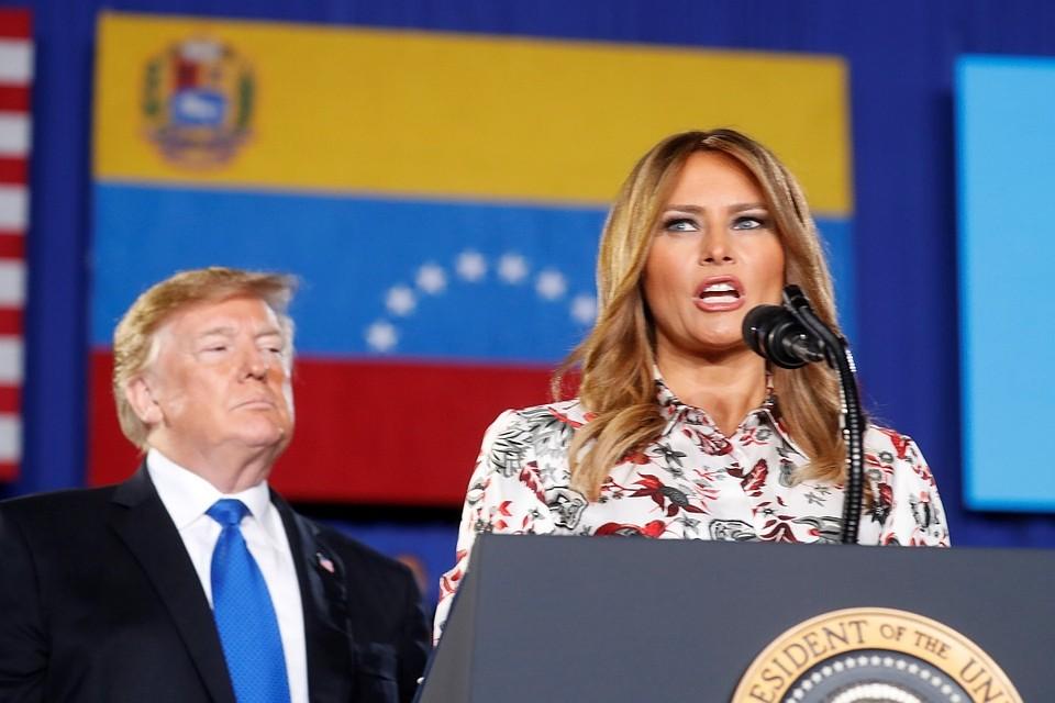 «Это все Фотошоп!»: Трамп прокомментировал слухи одвойнике супруги