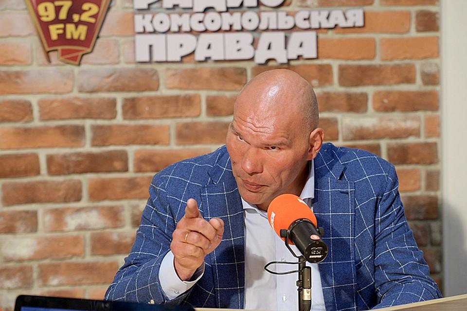 Валуев попал вКнигу рекордов Российской Федерации