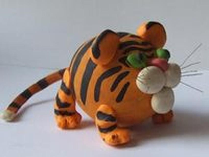 Сделать своими руками тигренка 3