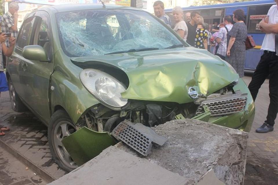 Водитель утверждает, что ее подрезал джип