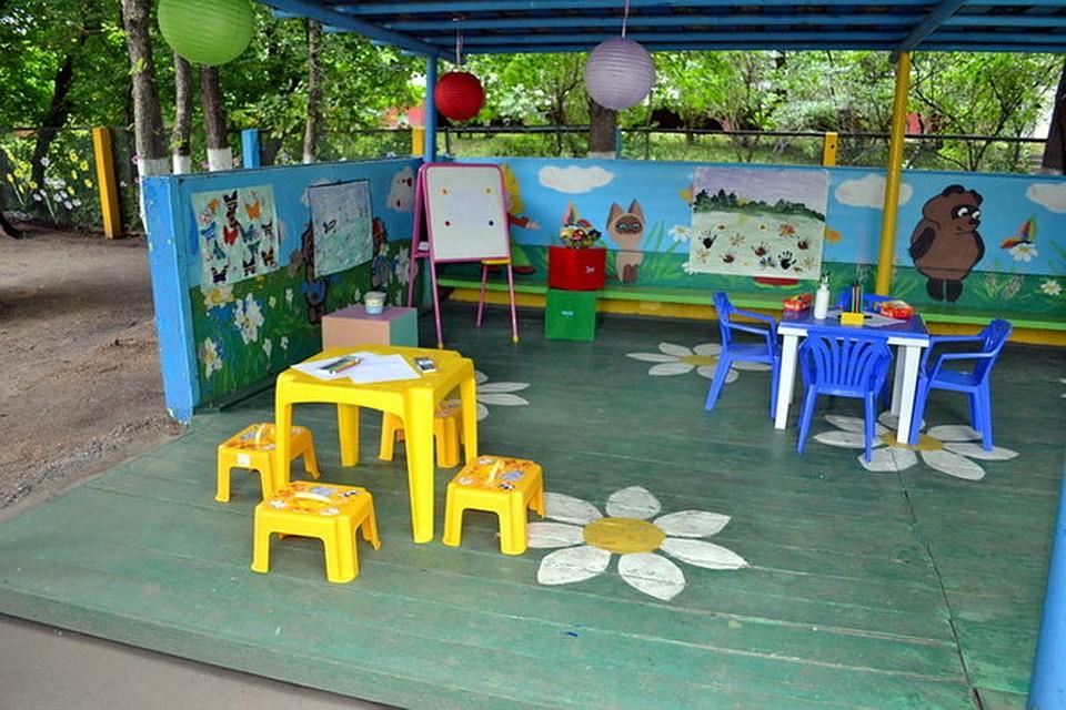 Идеи оформления детской площадки для детского сада своими руками 355