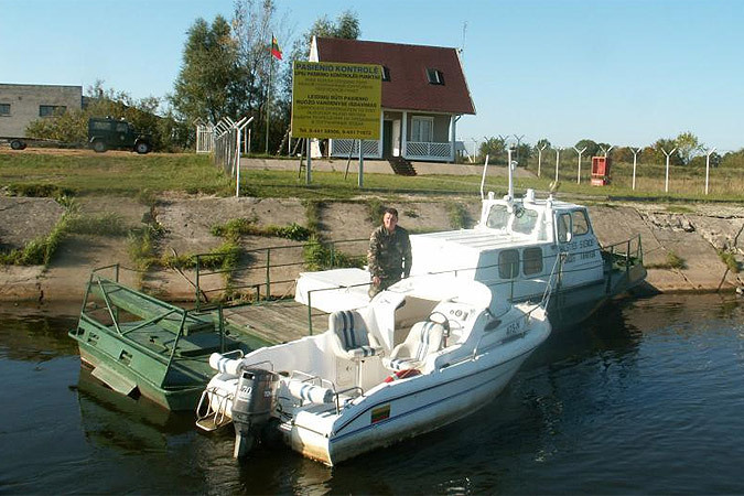 Специалисты Литвы и России приступили к работе по демаркации границы на несудоходных реках Лепона, Ширвинта и Шяшупе