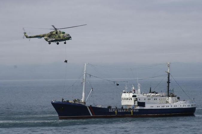 Служба у морских порганичников всегда считалась опасным делом