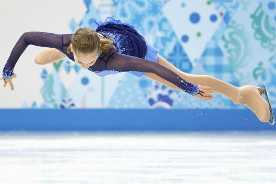 Создается впечатление, будто Юлия Липницкая умеет летать... Или это не просто впечатление?