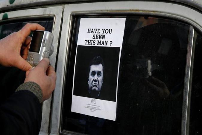 Отстраненного от власти президента Украины Виктора Януковича обнаружили в Московской области