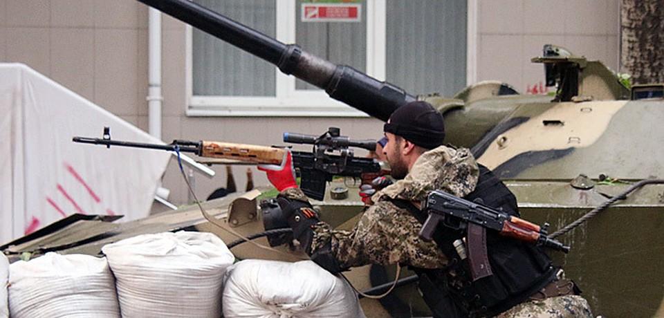 Украинские военные захватили девять блокпостов, один потом ополченцам удалось отбить назад