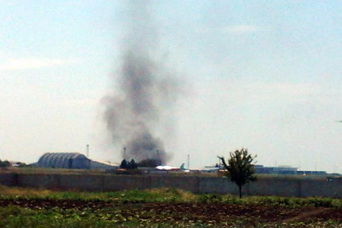 Украинские военные в ходе боя  уничтожили зенитную установку противника