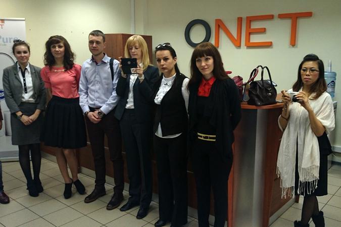 Участники семинара, приуроченного к открытию офиса QNet в России.