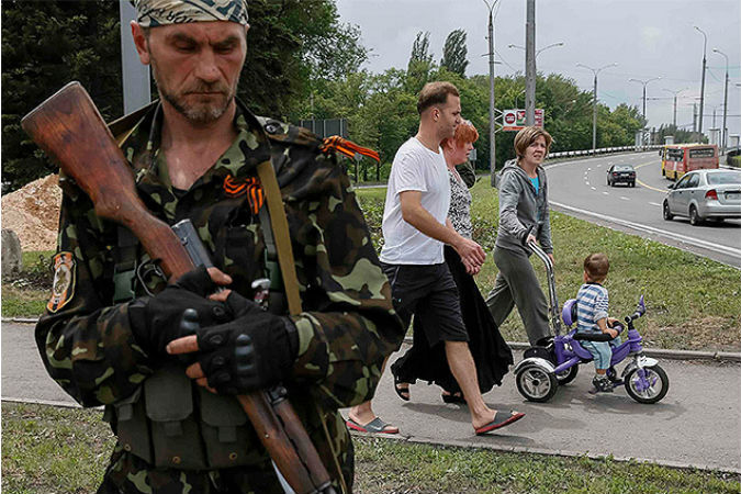 Корреспондент «КП» провел день на базе сепаратистов из батальона «Восток» Фото: REUTERS