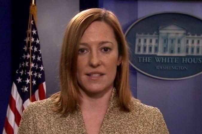 До того, как стать «лицом госдепа», Джен Псаки работала пресс-секретарем в Белом доме