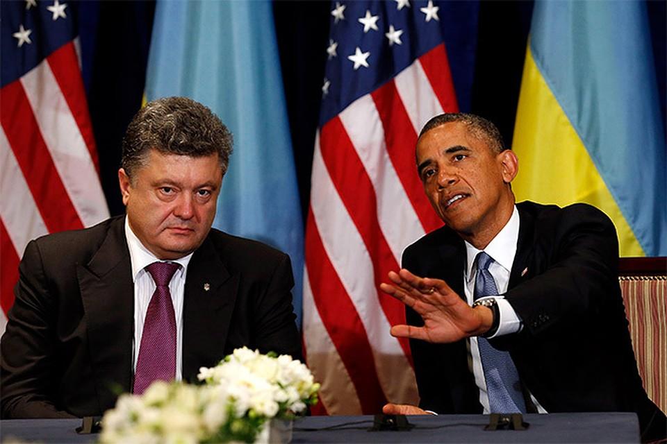 Одна из первых встреч Порошенко, победившего на выборах президента Украины, состоялась в Варшаве 4 июня с Бараком Обамой