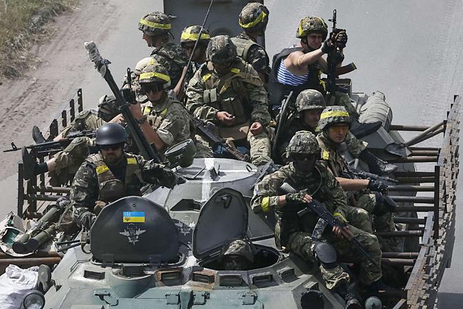 Сейчас Киев задействовал в карательной операции практически все боеспособные силы украинской армии
