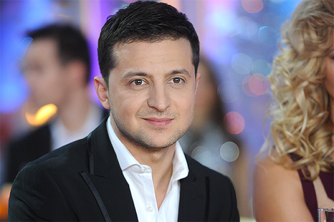 Украинский шоумен Владимир Зеленский о «бегстве» с родины: «Сейчас я нахожусь в Киеве, снимаю новые проекты»