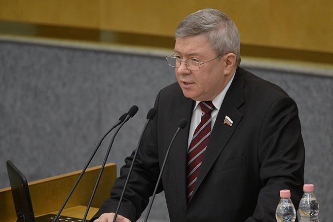 Председатель парламентской комиссии по расследованию чудовищного теракта Александр Торшин