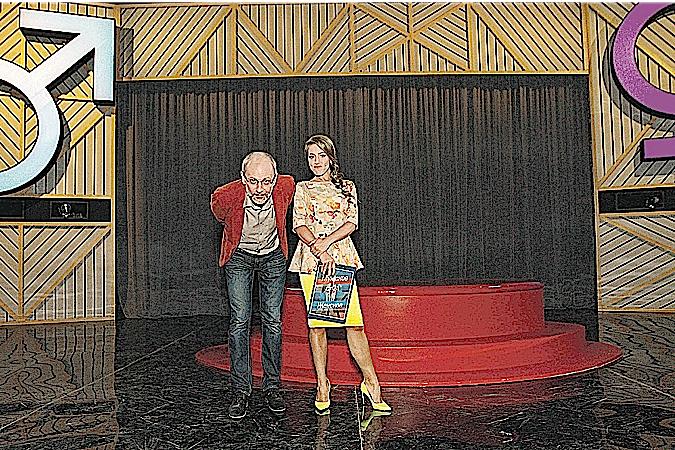 Александр постарается отстаивать права мужчин, а Юлия Барановская - права женщин. Фото: Владимир СОКОЛОВ.