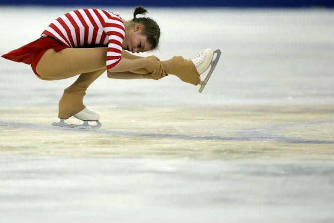 С серебром Китая Липницкая по-прежнему претендует на финал Гран-при