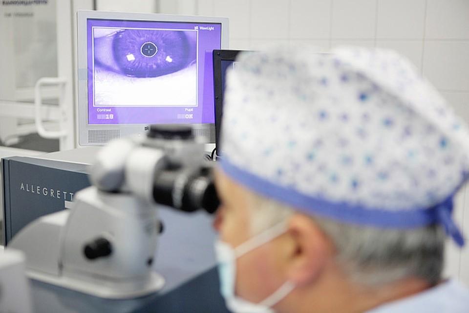 Лазерную коррекцию зрения казань