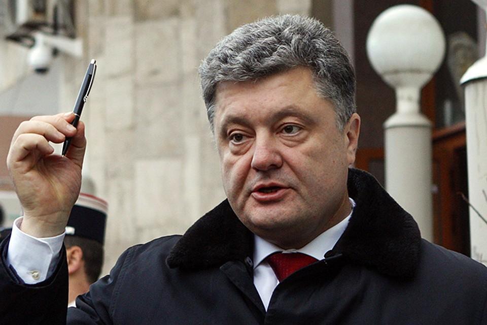 Президент Украины Порошенко прогнозирует отказ от российского газа