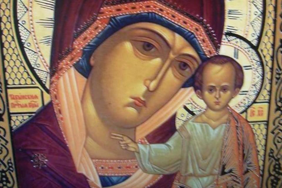 Табынская икона Божией Матери — Википедия