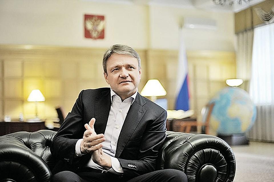 Министр сельского хозяйства Александр Ткачев.