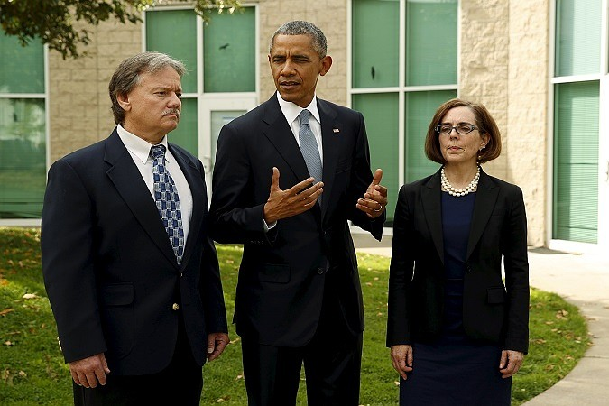Նախագահ Օբաման հանդիպել է Օրեգոնայի զոհերի հարազատներին
