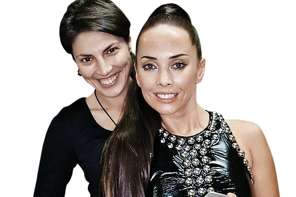 Оксана и Жанна были лучшими подругами. Степанова помогала певице, когда та заболела. Фото: личный архив.