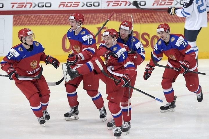 Российская молодежная сборная по хоккею - вице-чемпионы мира