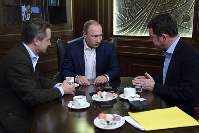 В начале января Бломе вместе с издателем Кайемом Дикманом взяли интервью у Владимира Путина в сочинской резиденции «Бочаров ручей»