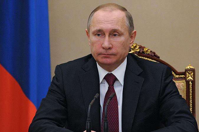 19 января 2016. Президент России Владимир Путин проводит в Кремле совещание по вопросам развития Фонда перспективных исследований.