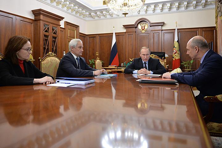 Президент провел совещание по экономике