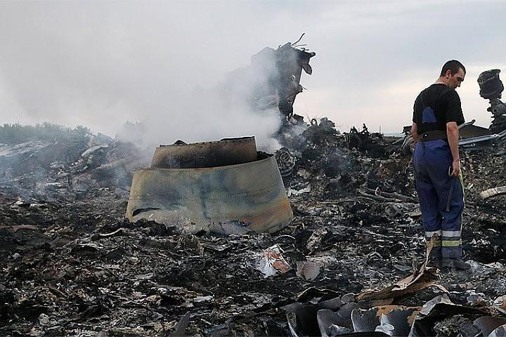 «Боинг» компании «Малайзийские авиалинии» разбился 17 июля 2014 года.