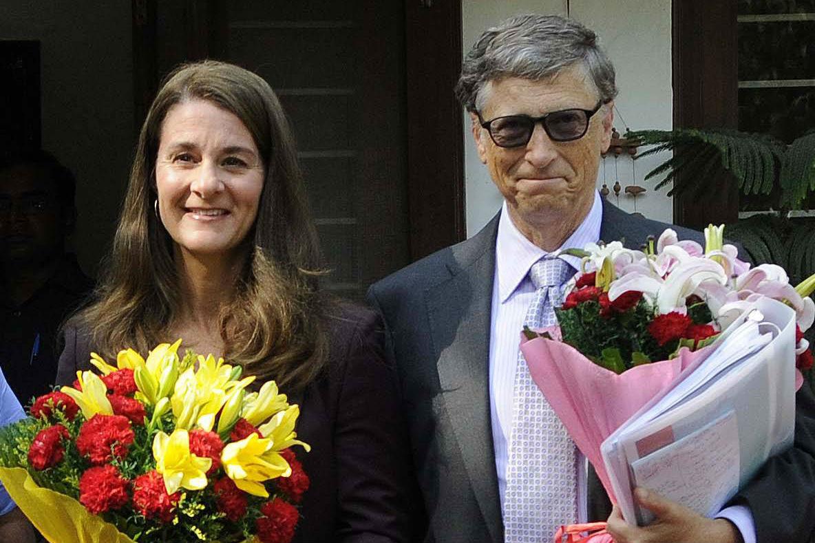 Мелинда и Билл Гейтс. Фото: Imago/TASS