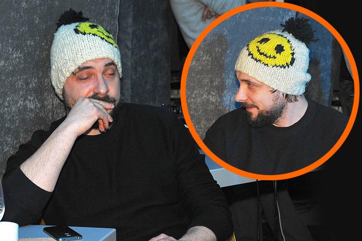 Евгений Цыганов в купленной за 80 тысяч шапке.